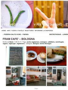 V per Vegetariano - Fram Cafè