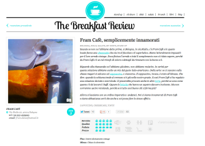 The Breakfast Review - Fram Cafè