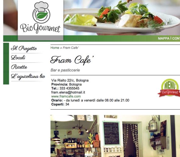 Bio Gourmet - Fram Cafè